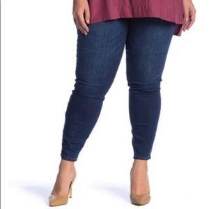 STS BLUE Emma Mid Rise Skinny Jeans Plus 24